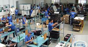 Interior da Excel Indústria e Comércio de Componentes Elétricos Ltda.